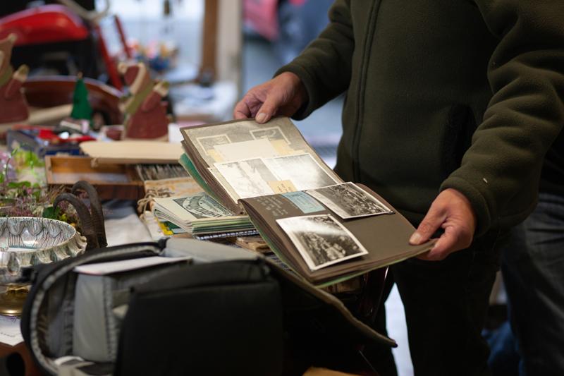 Antiquitäten Ladenlokal Trödelladen Fotobuch